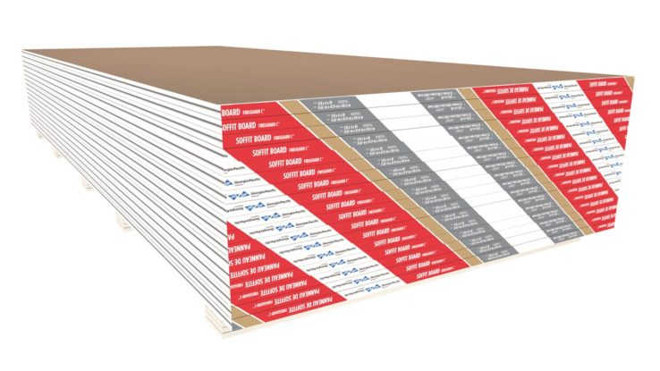ToughRock Fireguard C Fire-Rated Gypsum Soffit Board