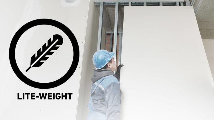ToughRock Lightweight Veneer Plaster Base Gypsum Drywall