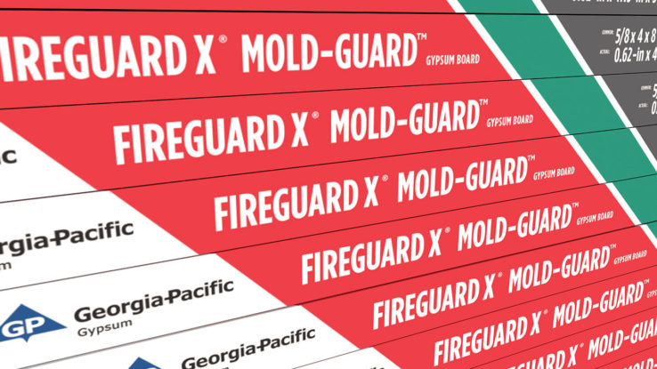 ToughRock Moisture-Resistant Drywall Gypsum Board