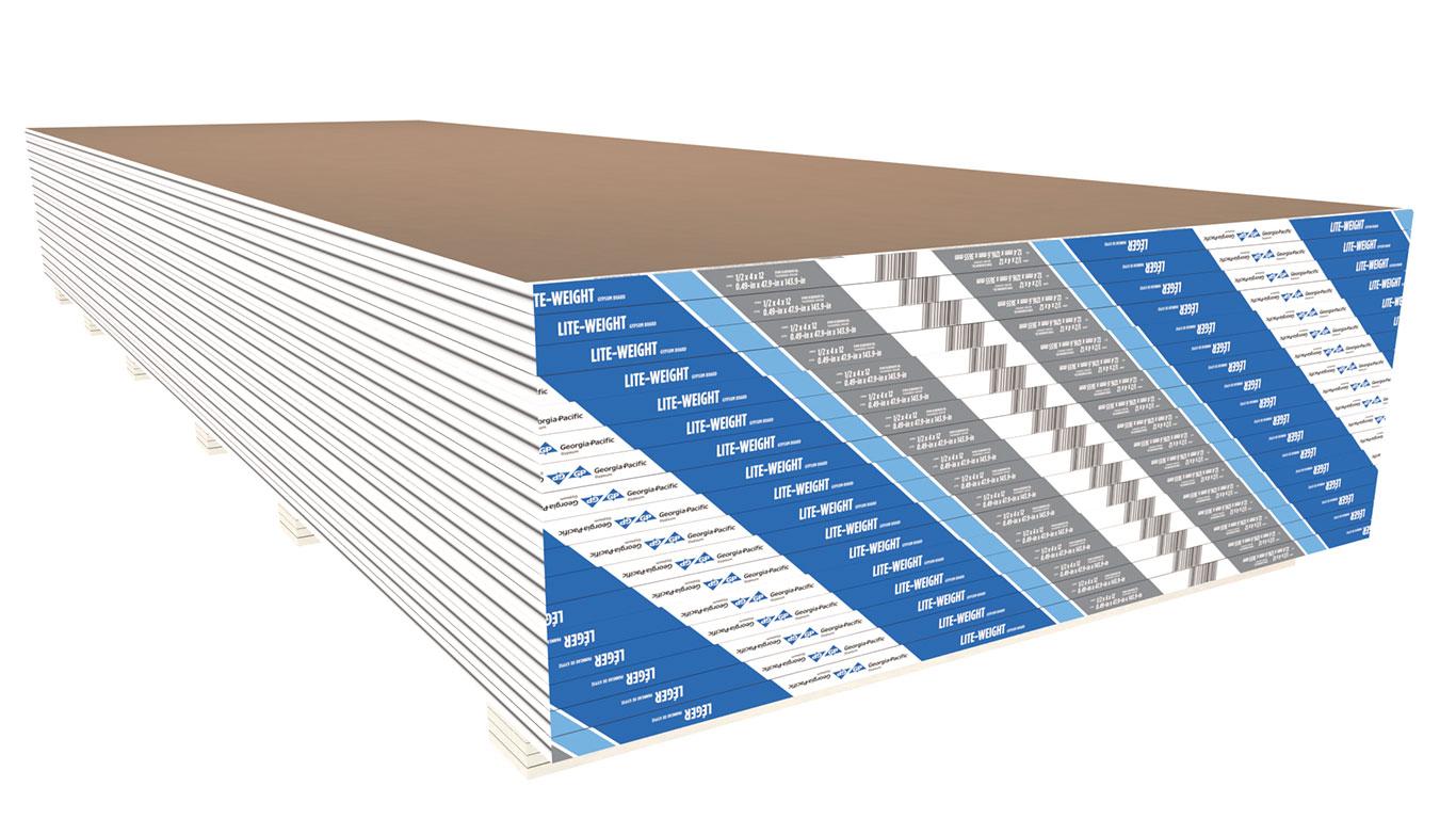 Lightweight Drywall Wallboard Panels Toughrock Lite Weight Gypsum Board