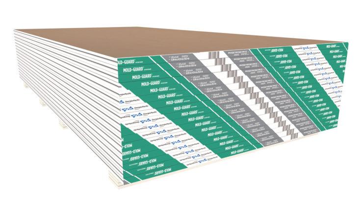 ToughRock Mold Guard Moisture Resistant Drywall