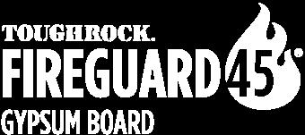 Georgia-Pacific ToughRock Fireguard 45 Fire-Rated Gypsum Board