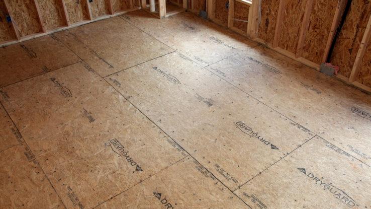 DryGuard Sturd-I-Floor Water-Resistant OSB Subfloor Panels