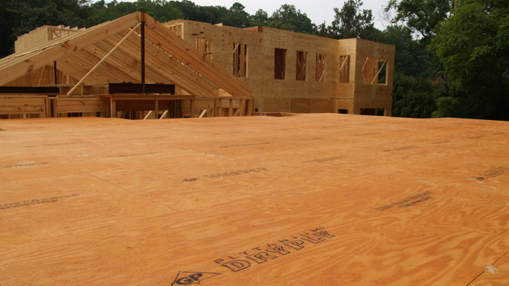 Georgia-Pacific DryPly Water-Resistant Subfloor Plywood Panels