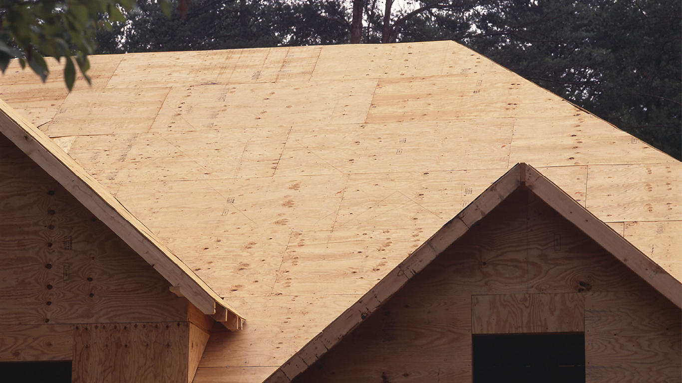 Plywood Roof Sheathing Osb Roofing