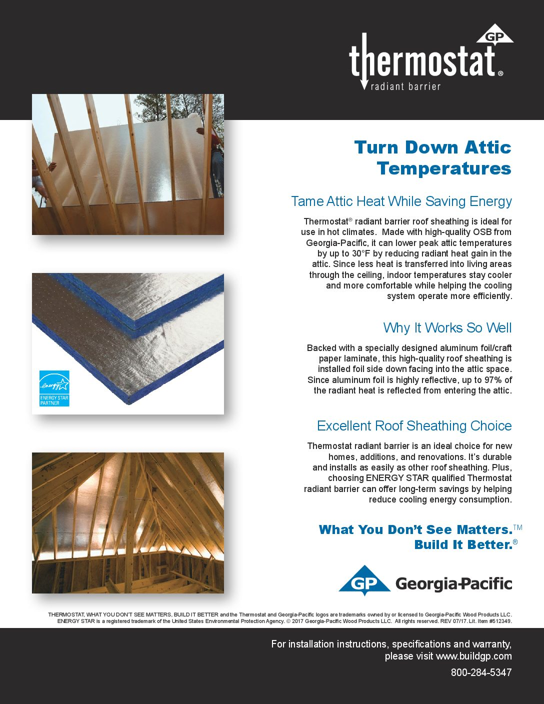 Thermostat Radiant Barrier Sheathing Osb Radiant Barrier