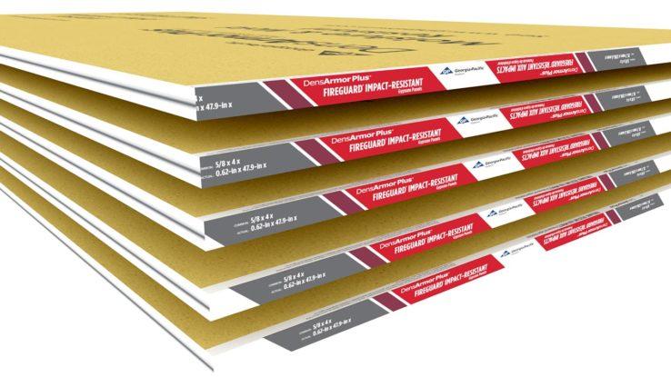 DensArmor Plus Fireguard Gypsum Abuse-Resistant Interior Panels