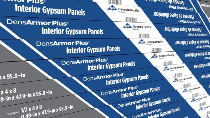 DensArmor Plus Moisture-Resistant Interior Gypsum Panels