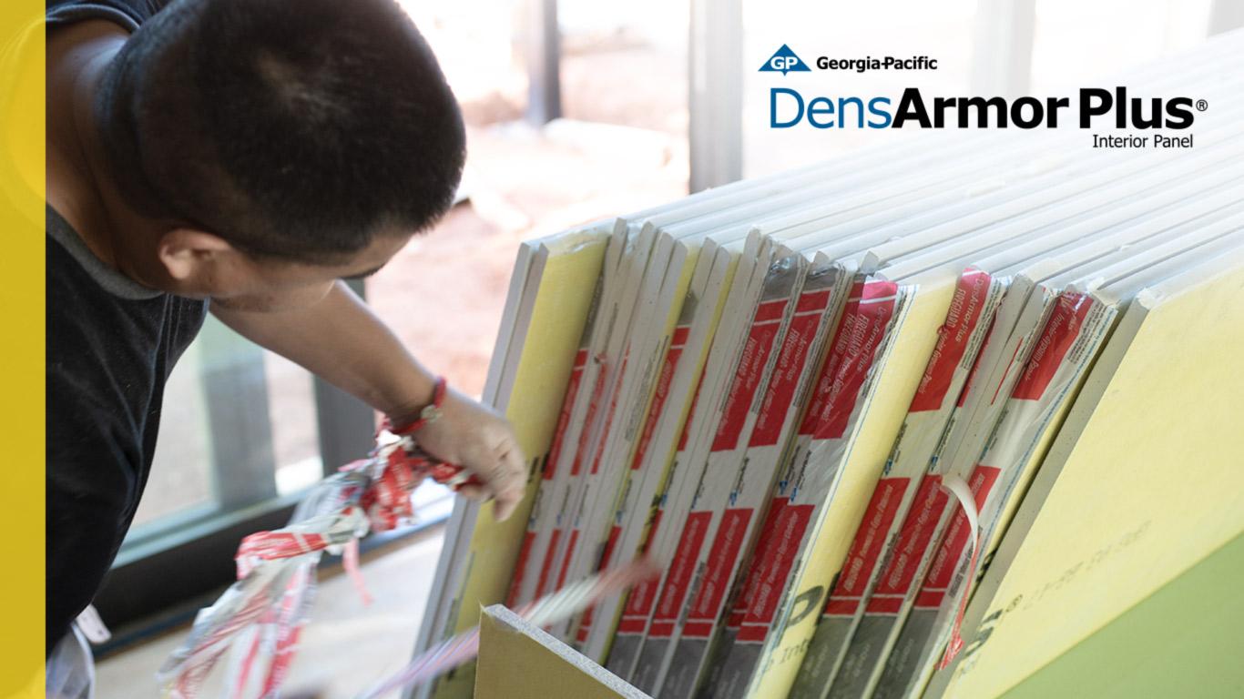 DensArmor Plus Interior Drywall Gypsum Panels