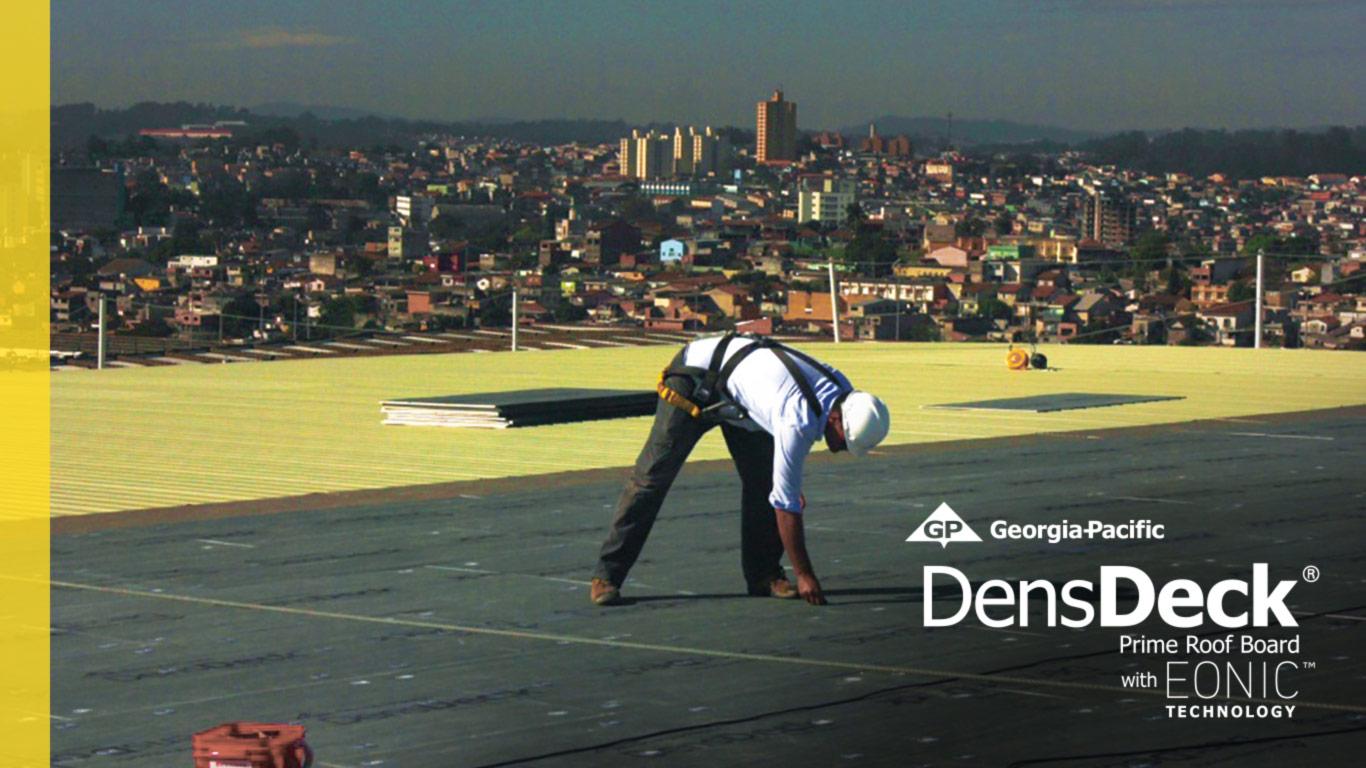 Gypsum Roof Board DensDeck Prime
