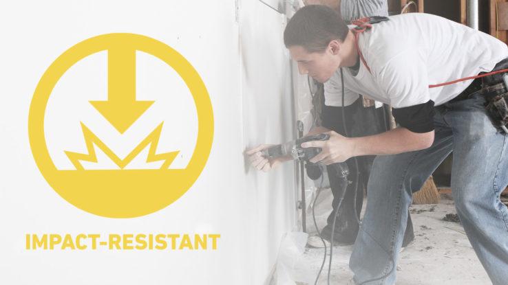DensArmor Plus Fireguard Impact-Resistant Fire-Rated Gypsum Panels