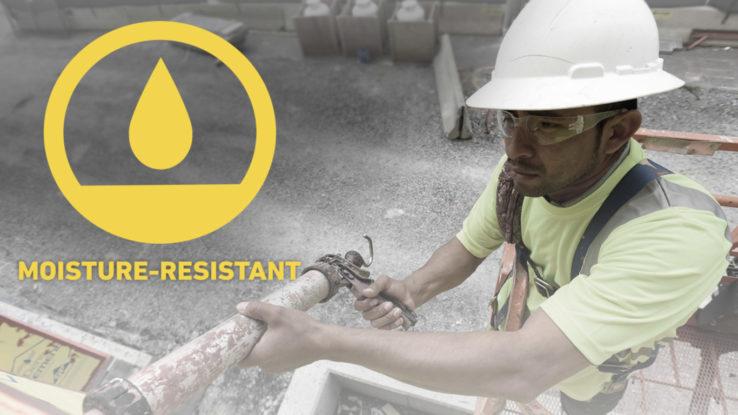 Moisture-resistant Exterior Fiberglass Mat Gypsum Wall Sheathing