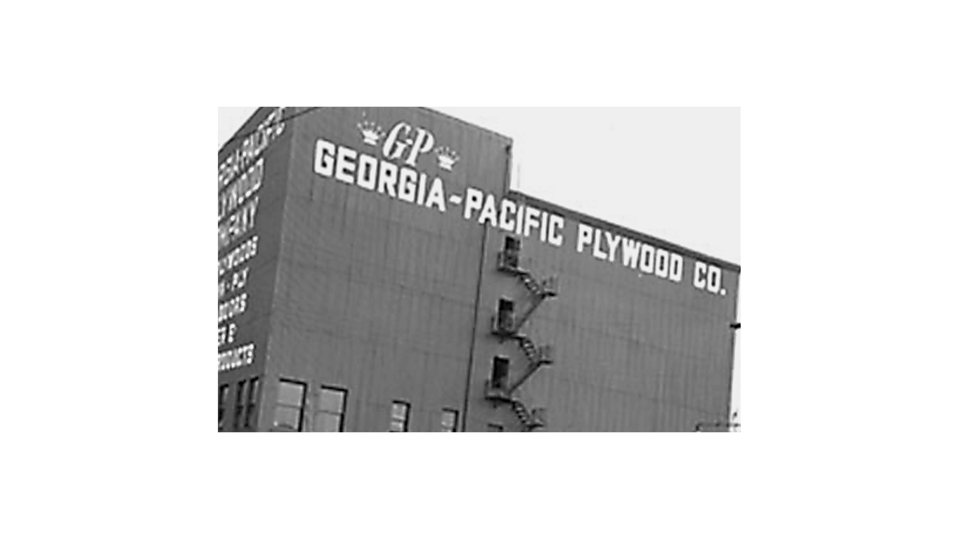 georgia-pacific plywood history timeline