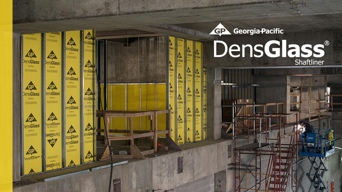 DensGlass Shaftliner Interior Product