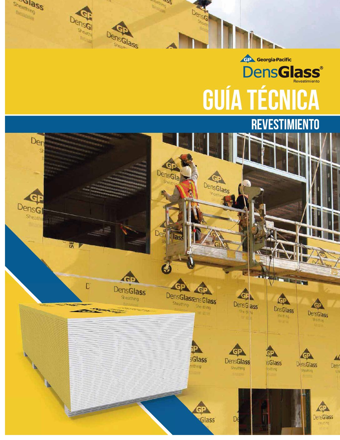 Densglass Sheathing Exterior Fiberglass Mat Gypsum Wall Sheathing
