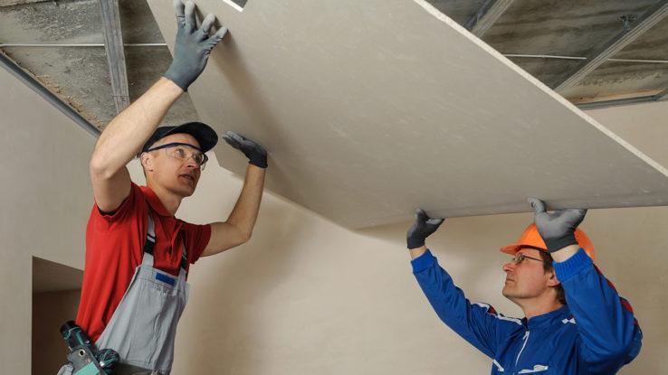 toughrock drywall ceiling panels