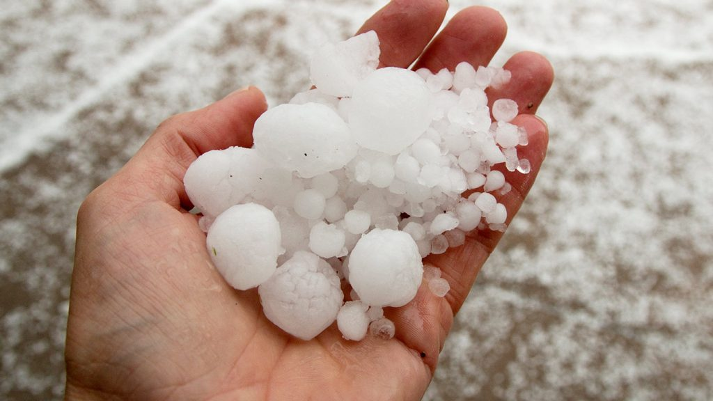 The sheer size of hailstones has been growing at an alarming rate over the years, with shards the size of tennis balls raining down throughout America's Hail Alley and beyond.