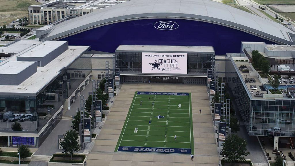 DensDeck Prime Roof Board was used throughout all the roofing on the both the Dallas Cowboys Headquarters and The Star event center buildings.